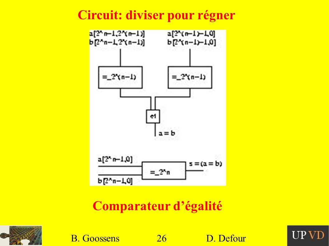 Circuit: diviser pour régner
