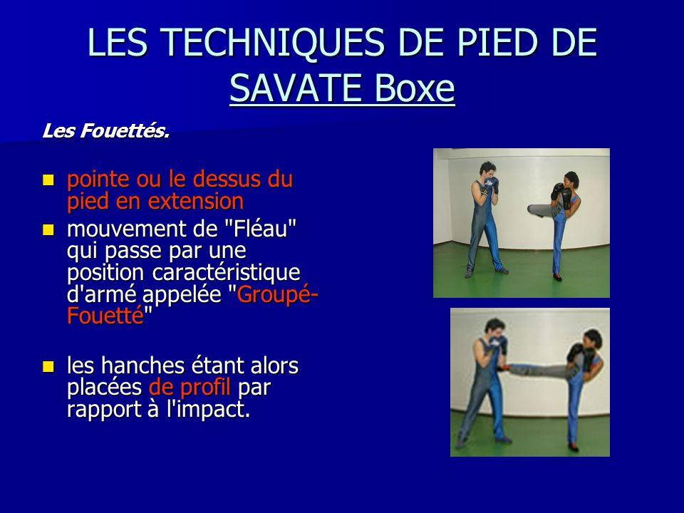 LES TECHNIQUES DE PIED DE SAVATE Boxe
