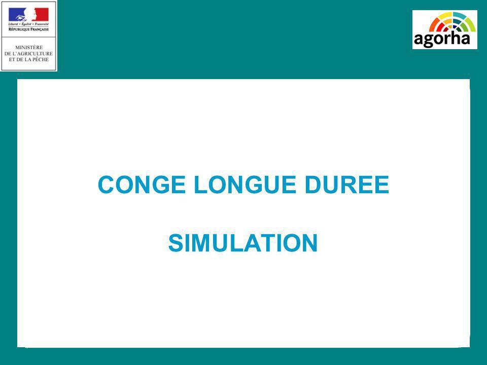 CONGE LONGUE DUREE SIMULATION