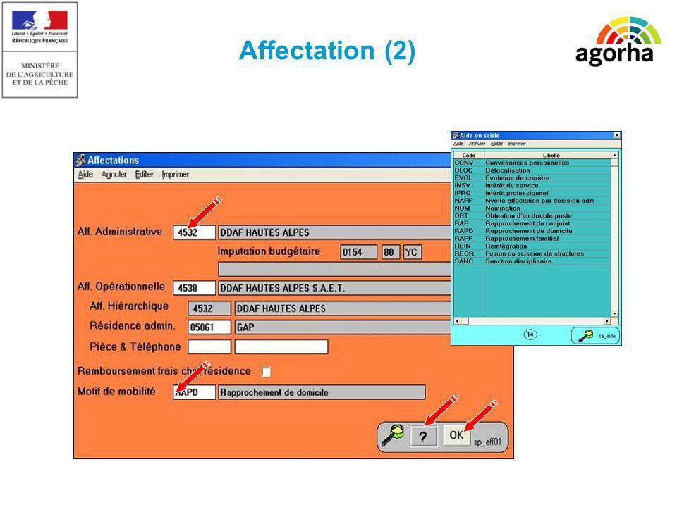 Affectation (2)