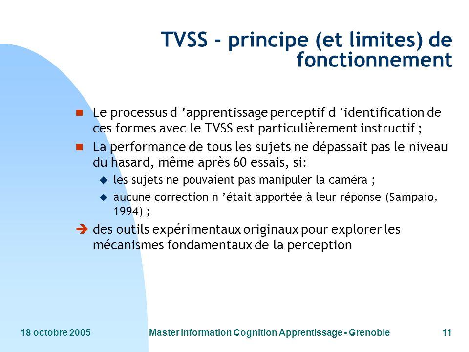 TVSS - principe (et limites) de fonctionnement
