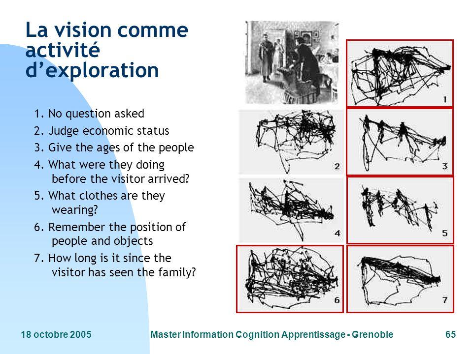 La vision comme activité d'exploration