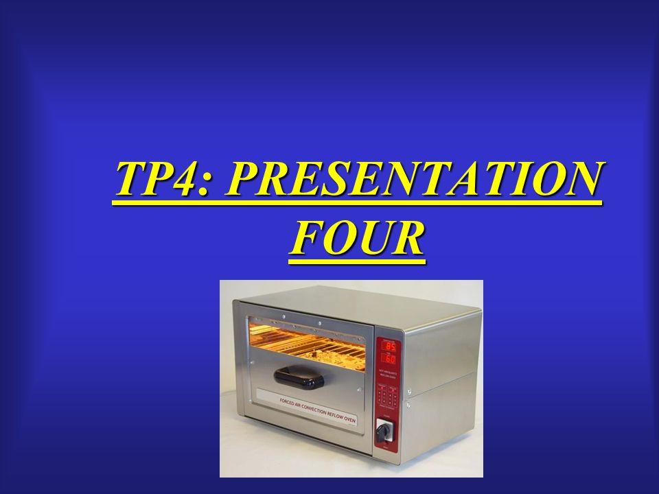 TP4: PRESENTATION FOUR
