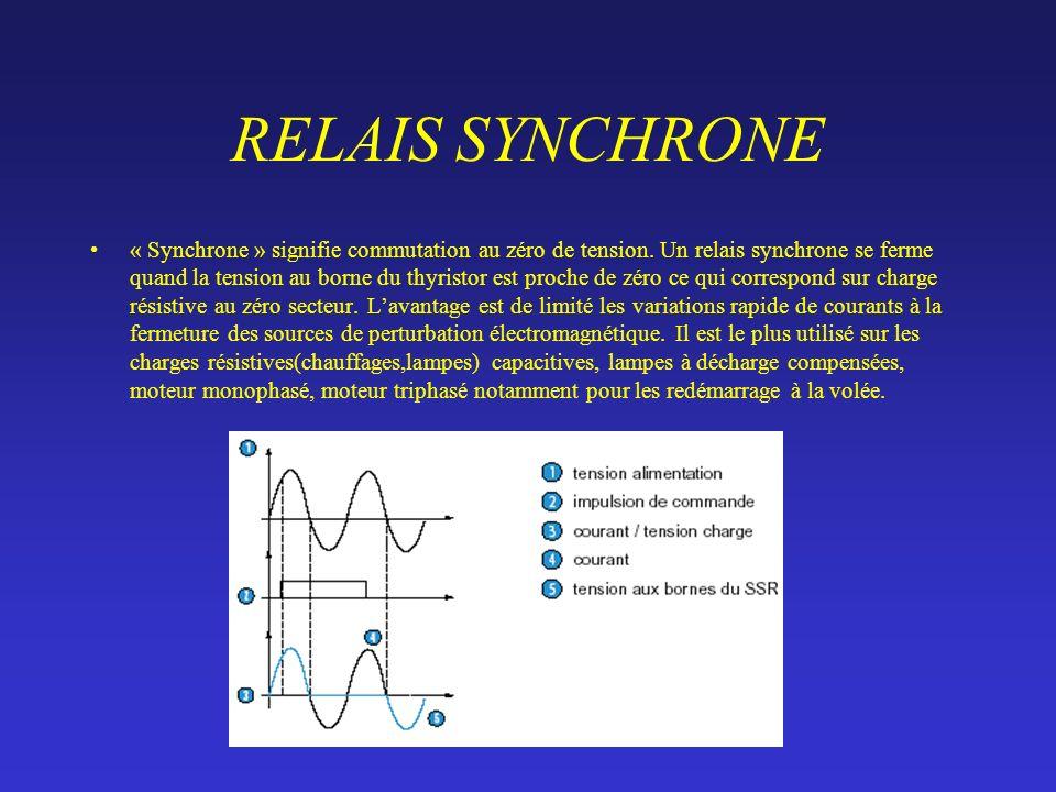 RELAIS SYNCHRONE