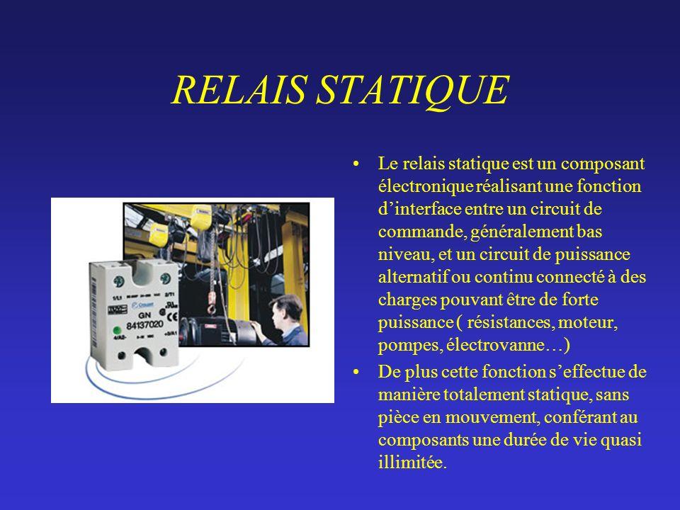 RELAIS STATIQUE