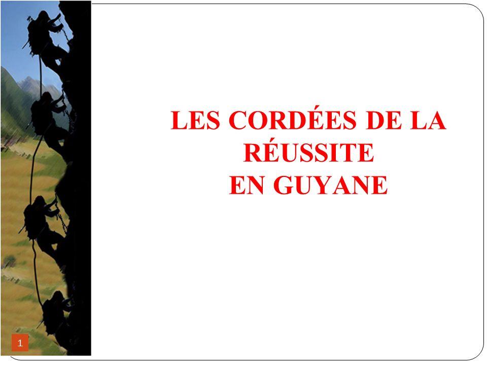 LES CORDÉES DE LA RÉUSSITE EN GUYANE