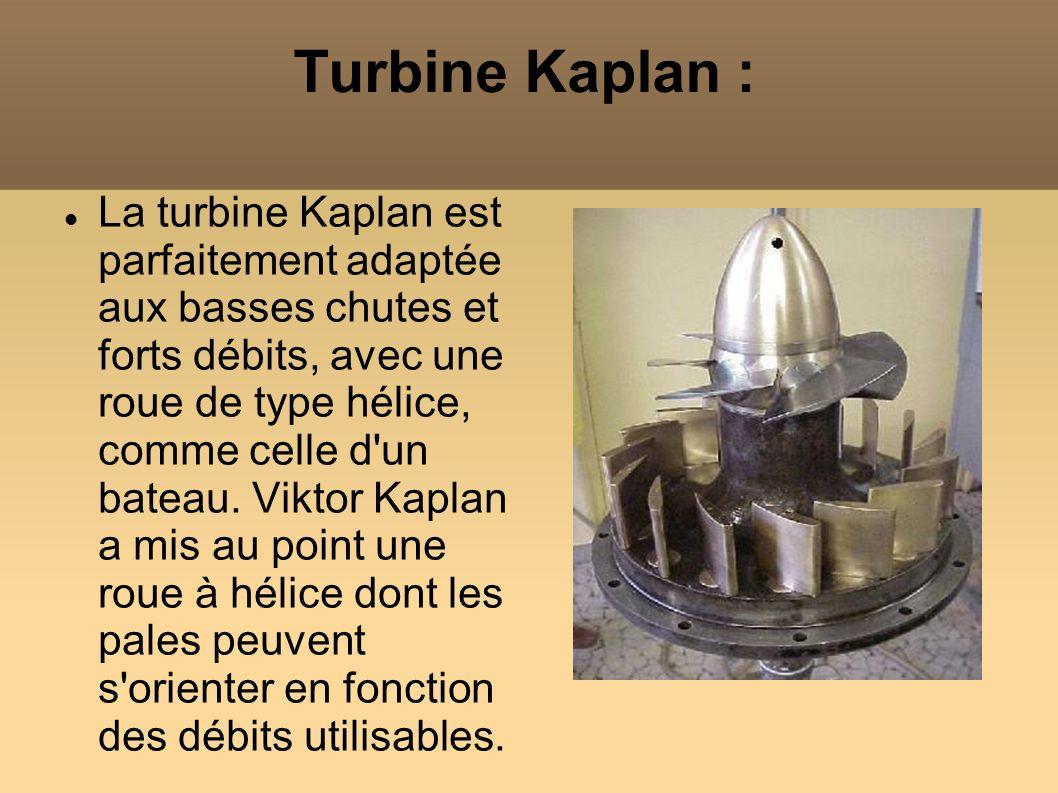 Turbine Kaplan :