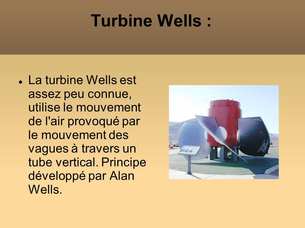 Turbine Wells :