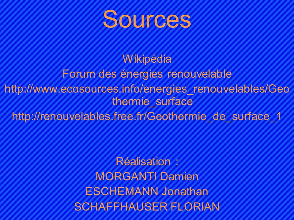 Forum des énergies renouvelable