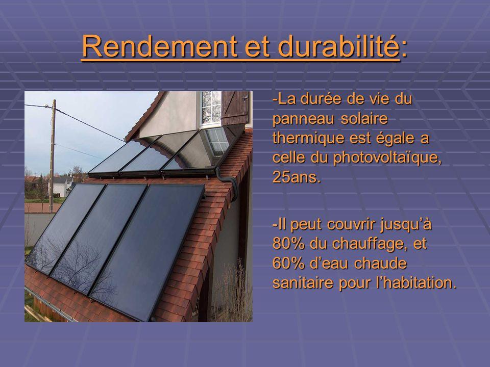 Rendement et durabilité:
