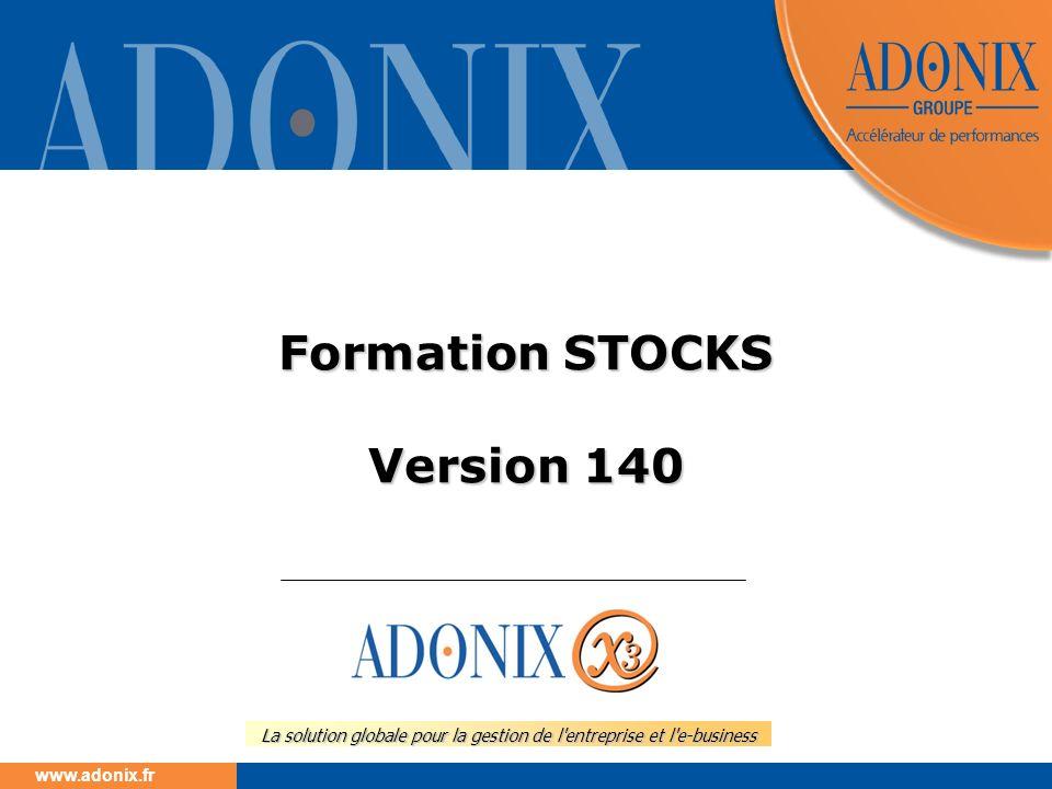 Formation STOCKS Version 140
