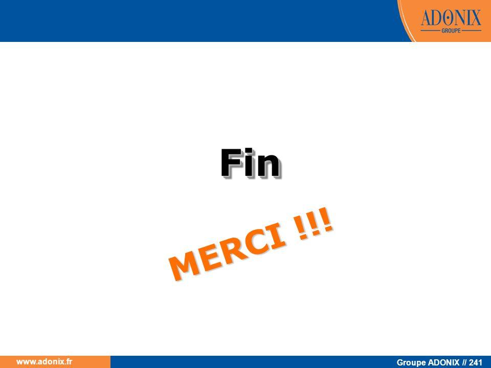 Fin MERCI !!!