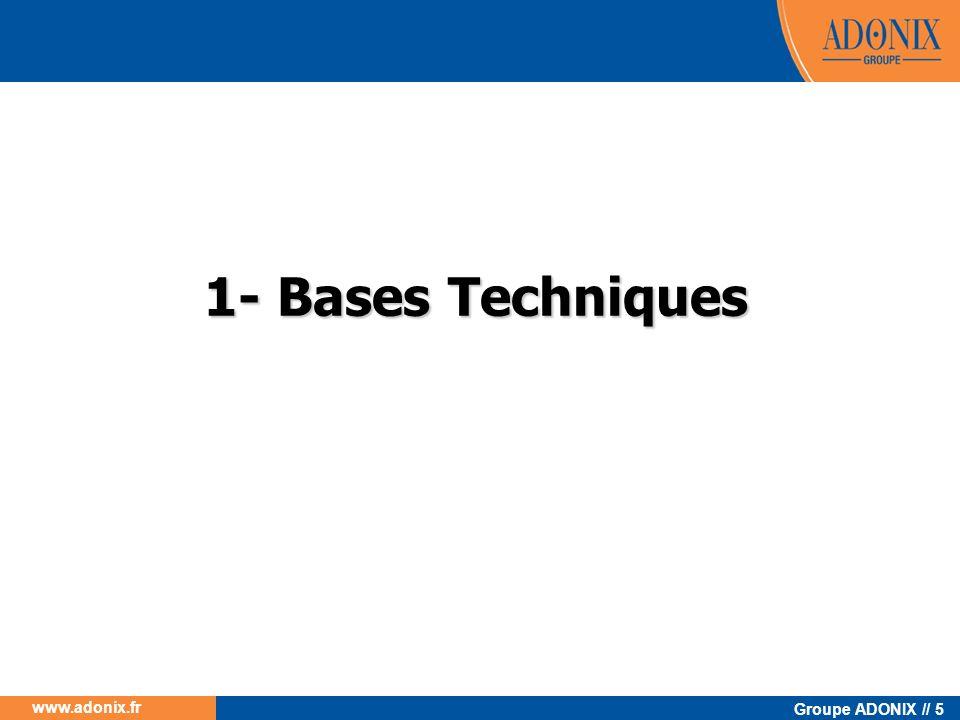 1- Bases Techniques