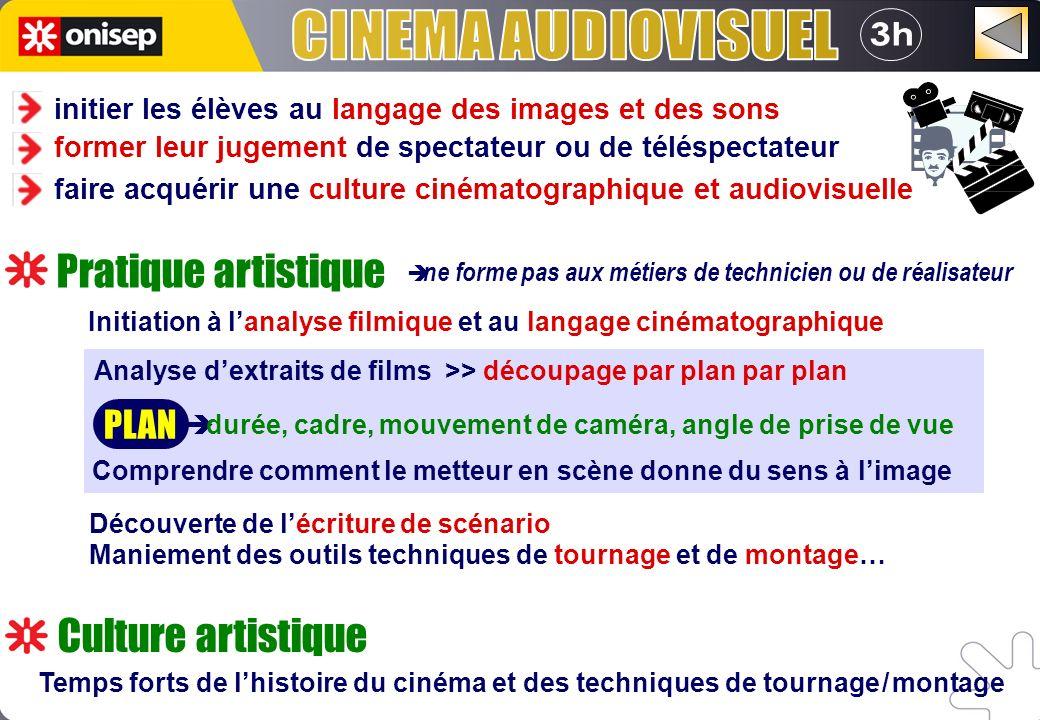 è ne forme pas aux métiers de technicien ou de réalisateur