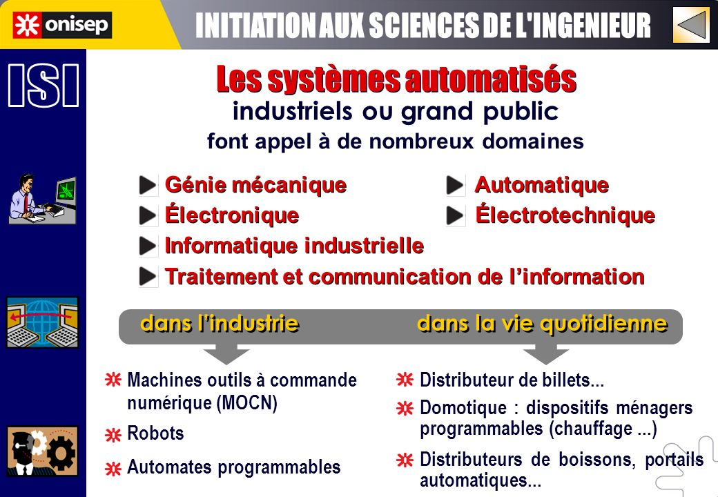 INITIATION AUX SCIENCES DE L INGENIEUR ISI