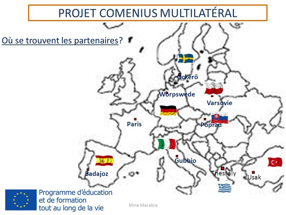 PROJET COMENIUS MULTILATÉRAL