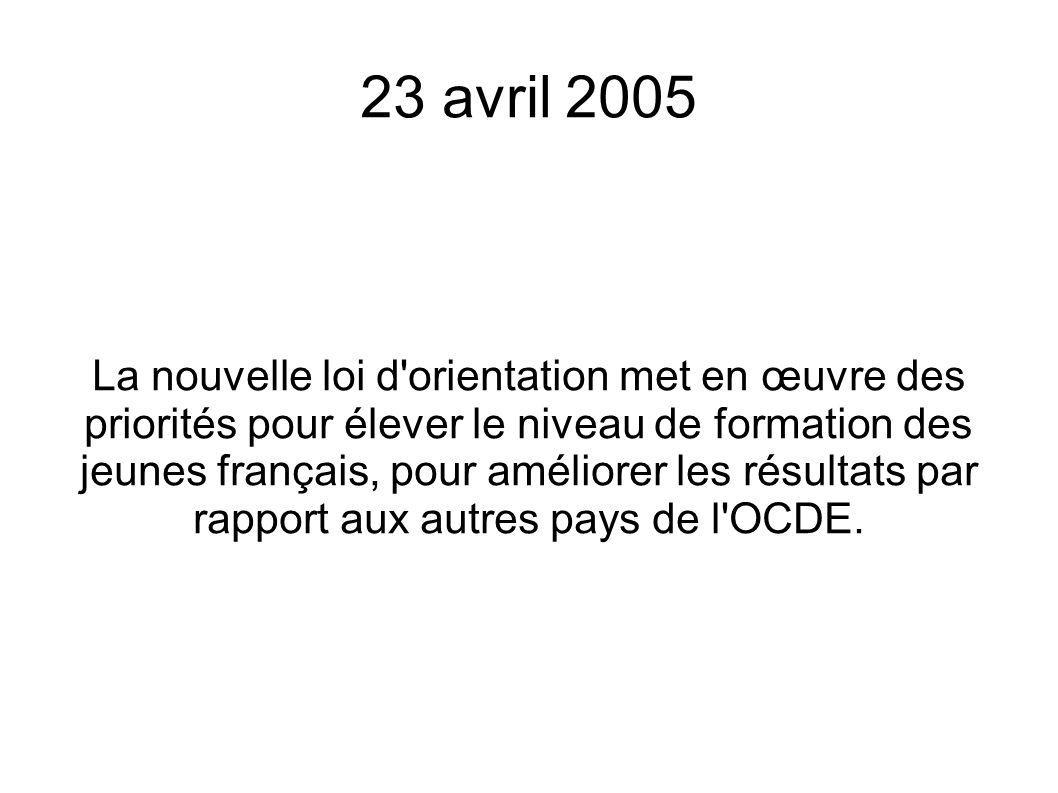 23 avril 2005