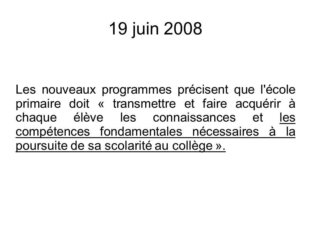 19 juin 2008