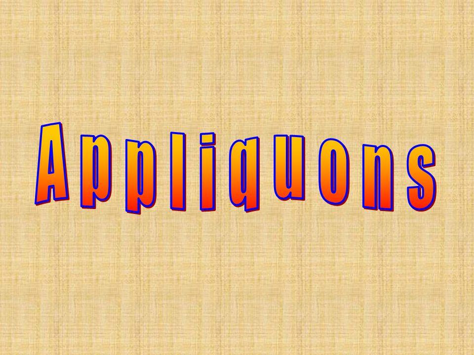 Appliquons