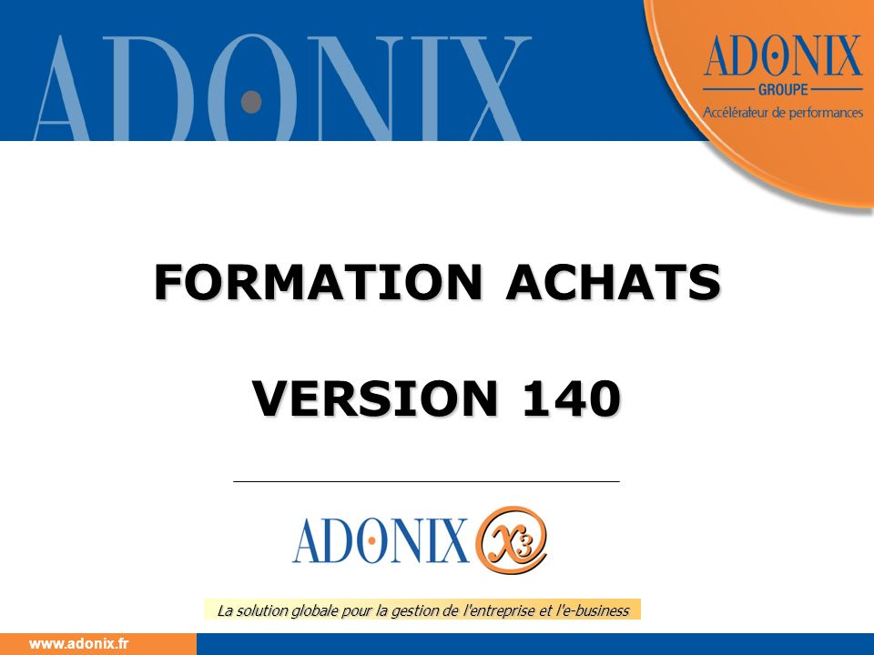 FORMATION ACHATS VERSION 140