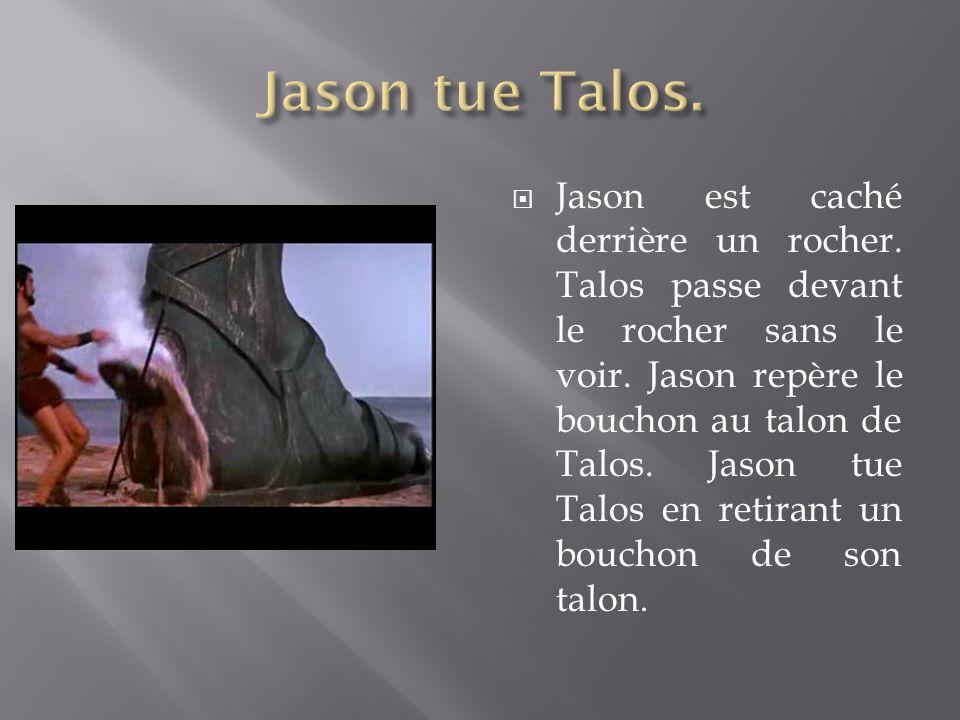 Jason tue Talos.