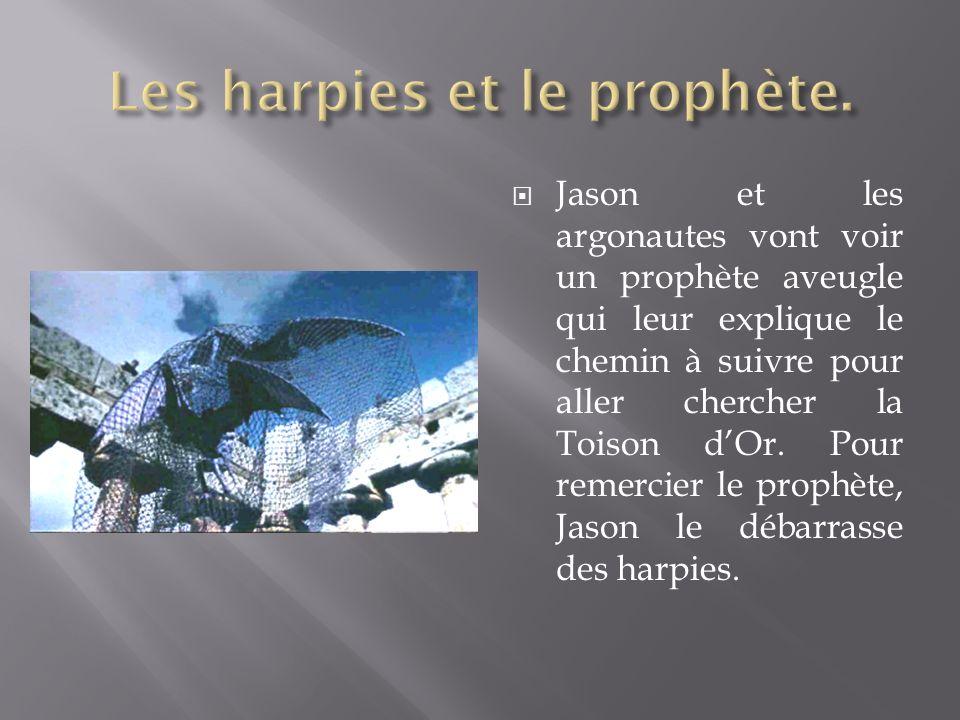 Les harpies et le prophète.