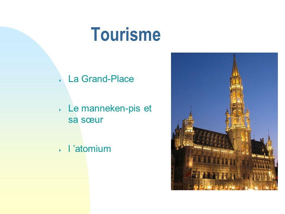 04/01/07 Tourisme La Grand-Place Le manneken-pis et sa sœur l 'atomium