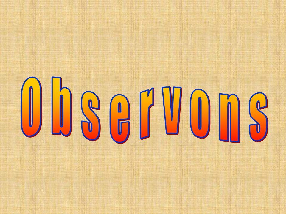 Observons