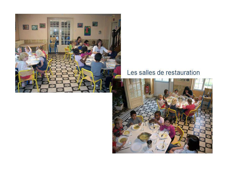 Les salles de restauration