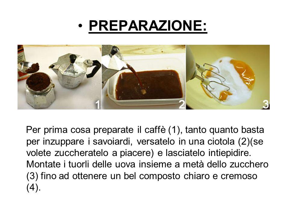 PREPARAZIONE: