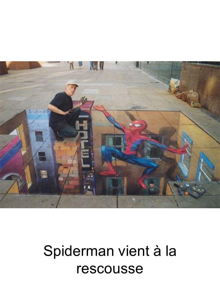Spiderman vient à la rescousse