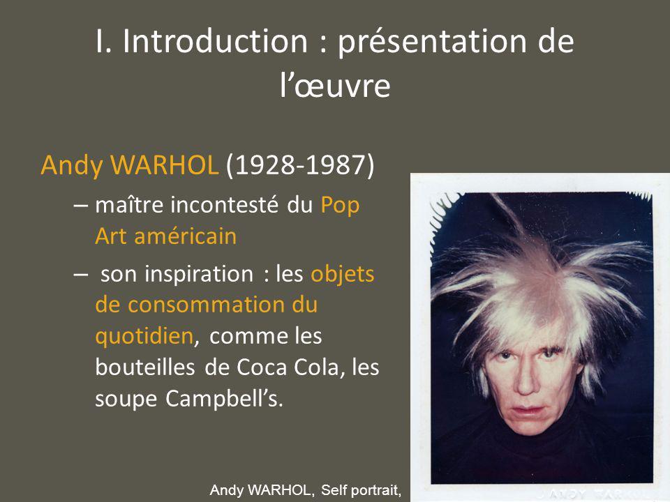 I. Introduction : présentation de l'œuvre