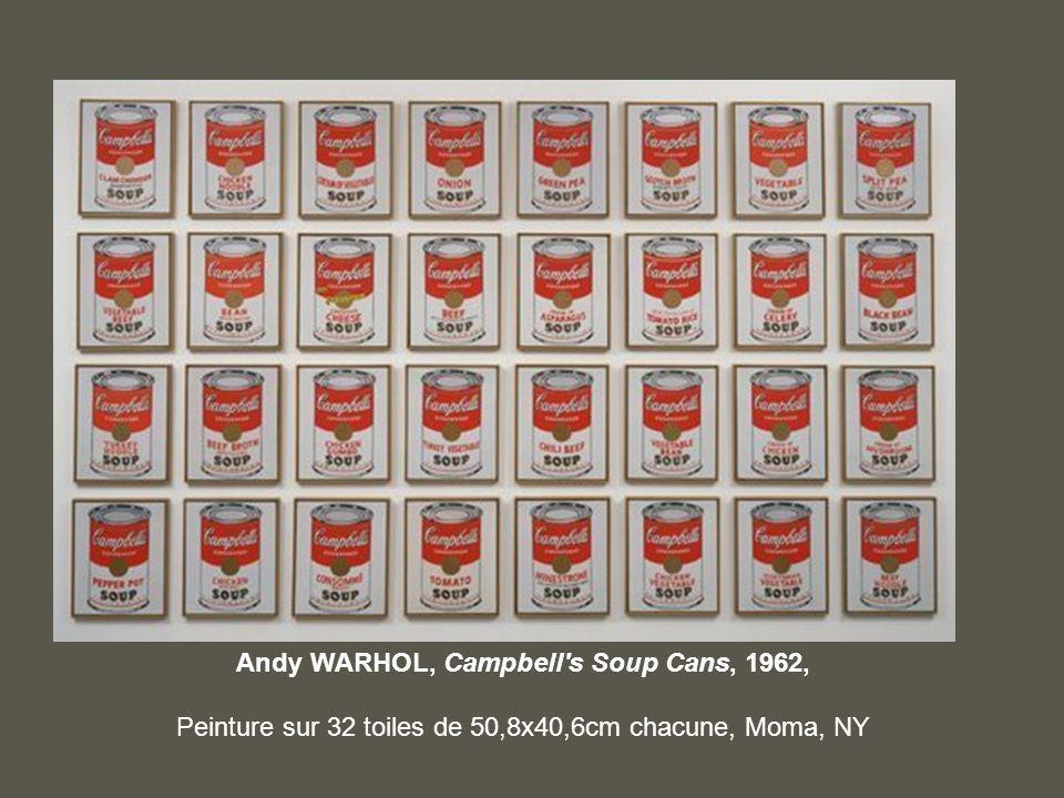 Andy WARHOL, Campbell s Soup Cans, 1962,