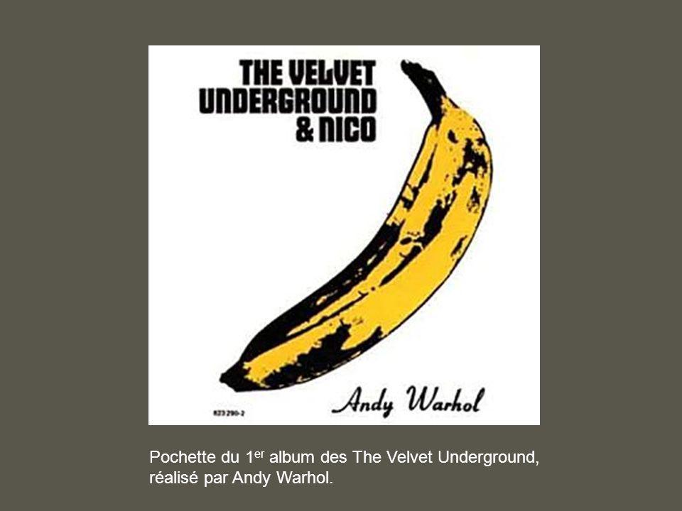 Pochette du 1er album des The Velvet Underground,