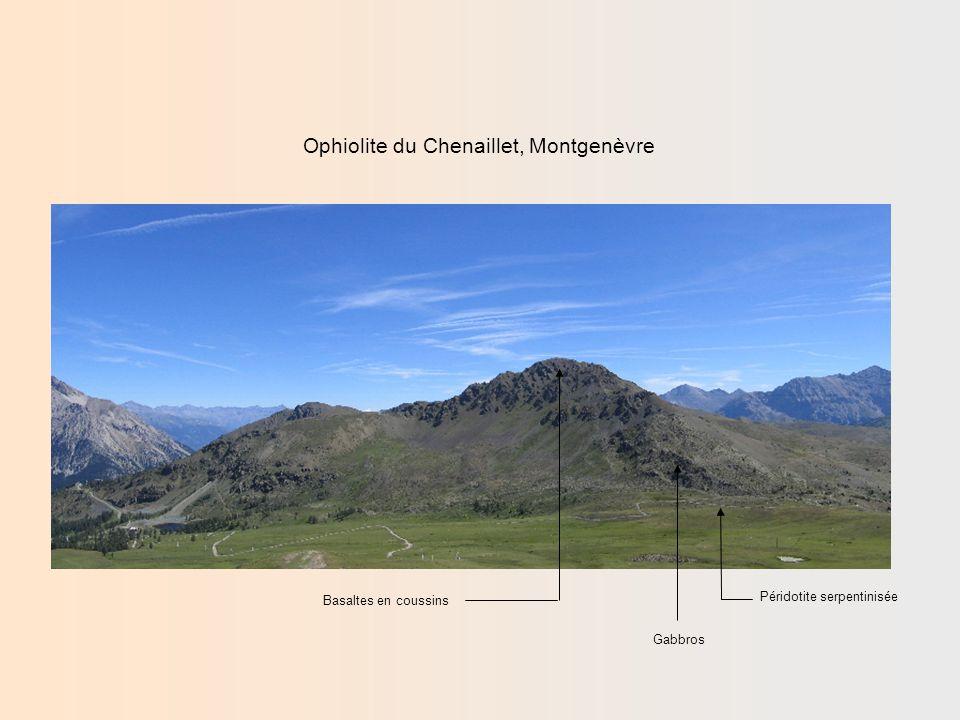 Ophiolite du Chenaillet, Montgenèvre