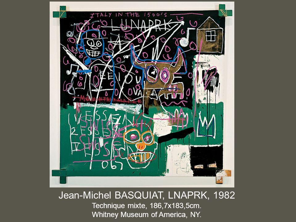 Jean-Michel BASQUIAT, LNAPRK, 1982
