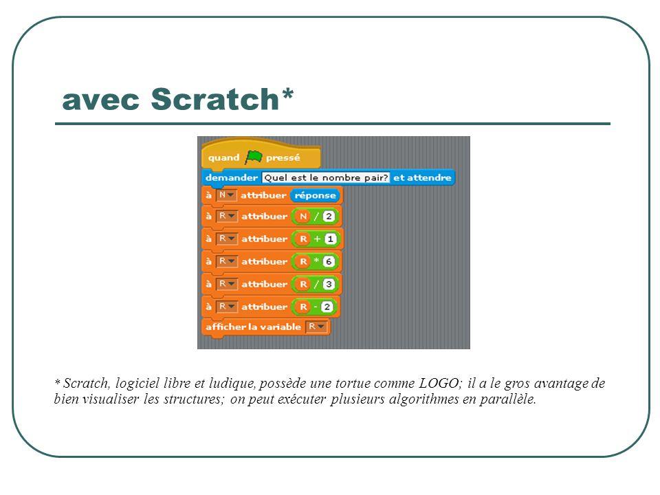 avec Scratch*