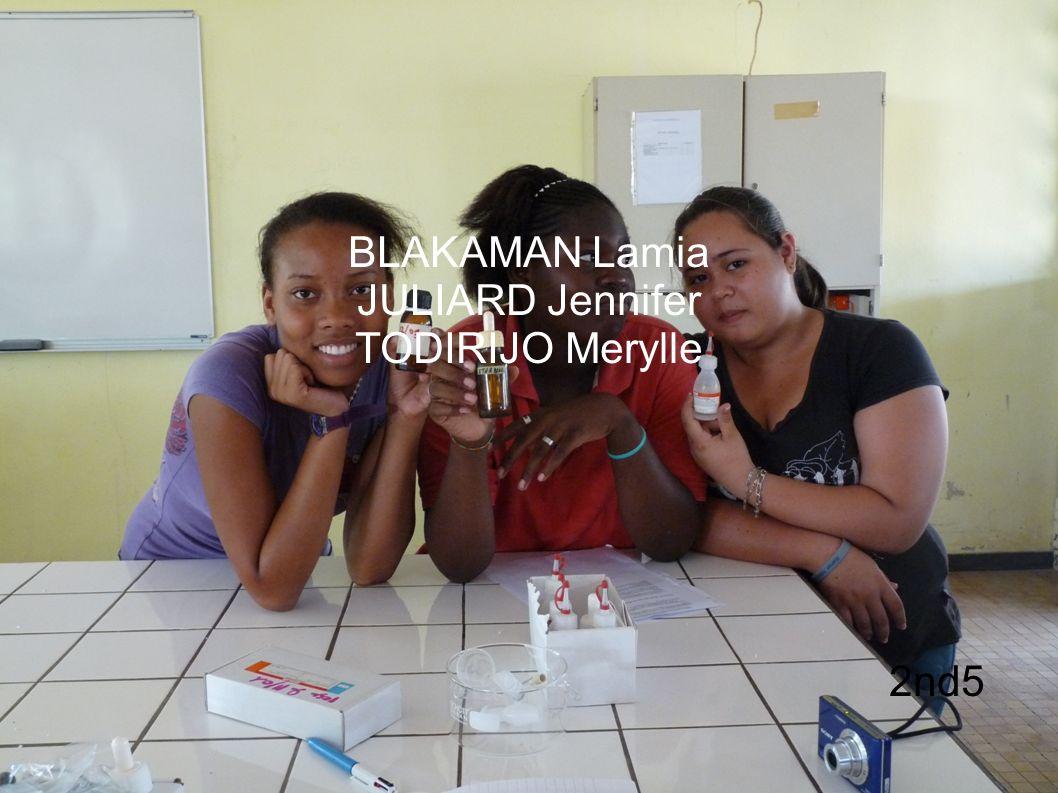 BLAKAMAN Lamia JULIARD Jennifer TODIRIJO Merylle 2nd5