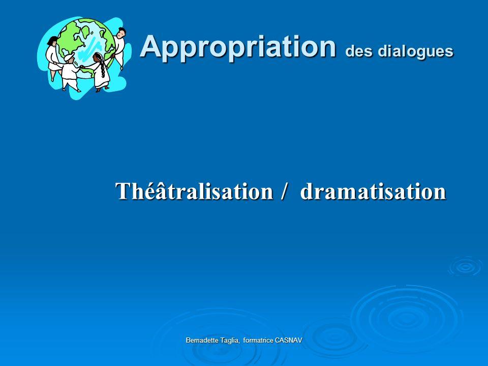 Appropriation des dialogues