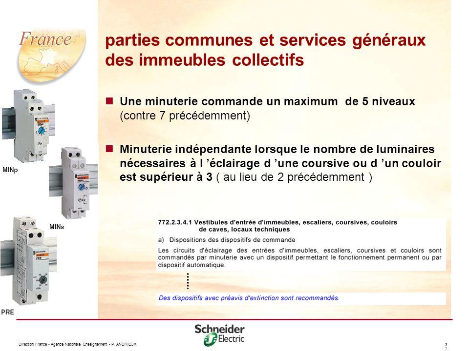 parties communes et services généraux des immeubles collectifs