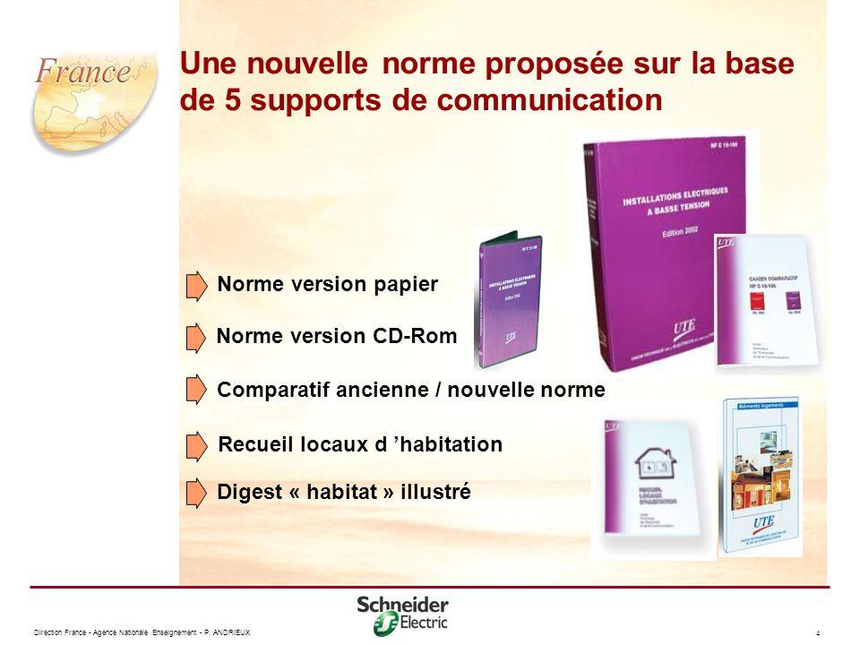 Une nouvelle norme proposée sur la base de 5 supports de communication