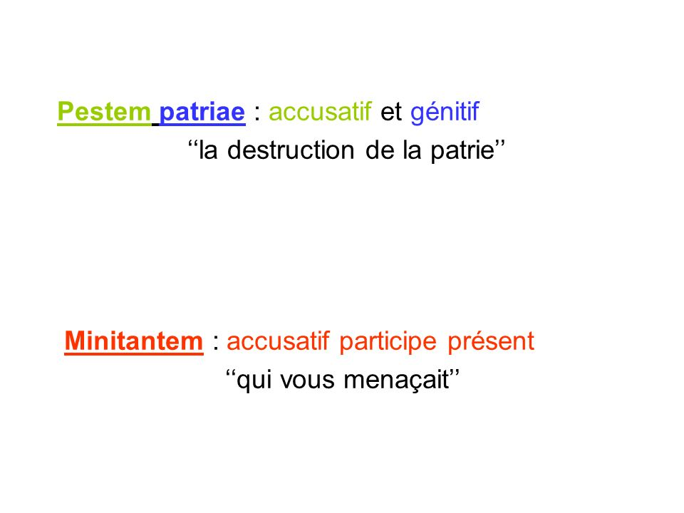 ''la destruction de la patrie''