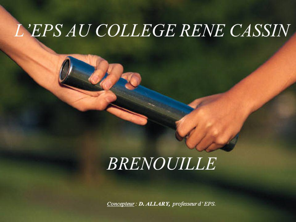L'EPS AU COLLEGE RENE CASSIN