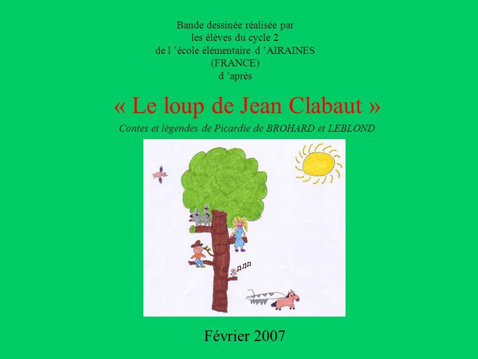 « Le loup de Jean Clabaut »