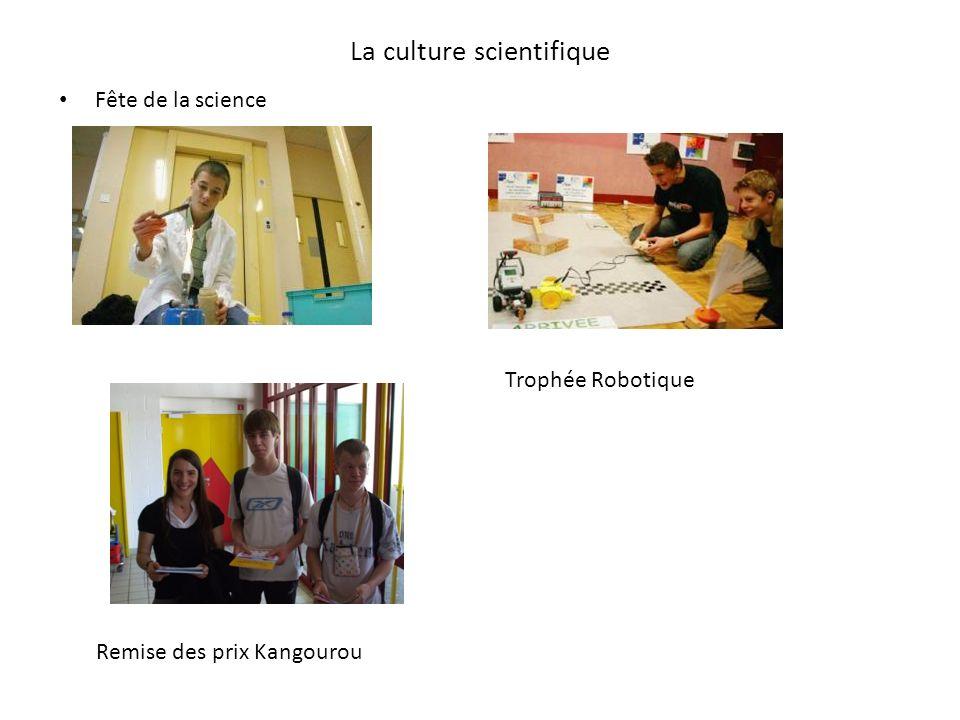 La culture scientifique