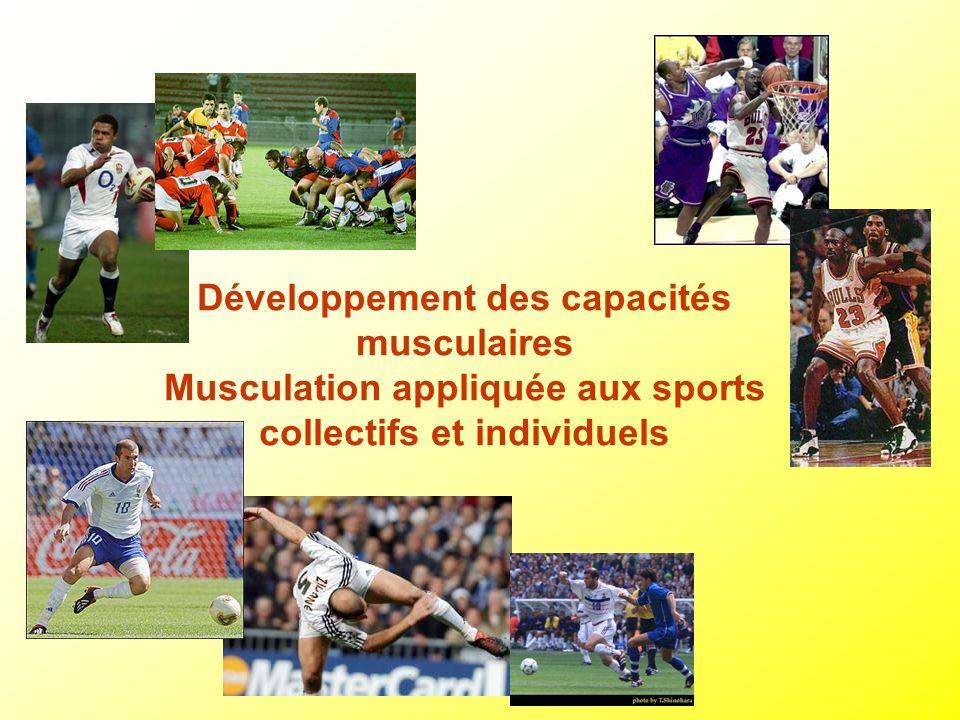 Développement des capacités musculaires