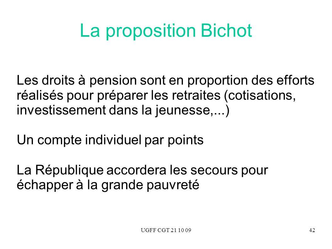 La proposition Bichot