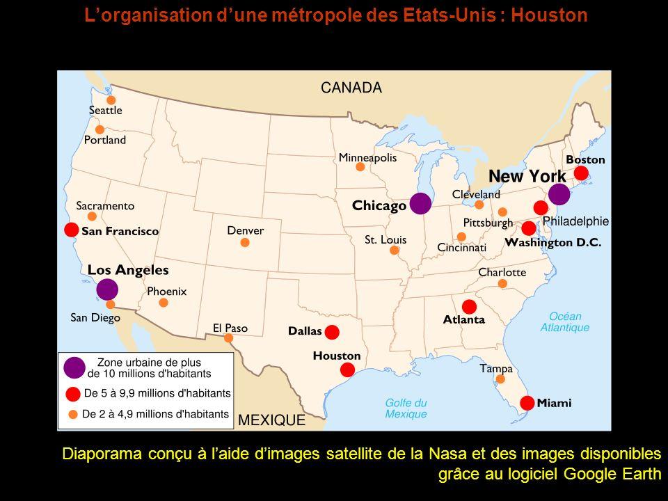 L'organisation d'une métropole des Etats-Unis : Houston