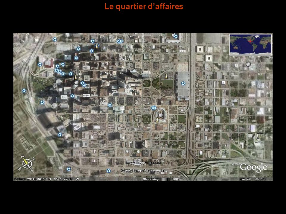 Le quartier d'affaires