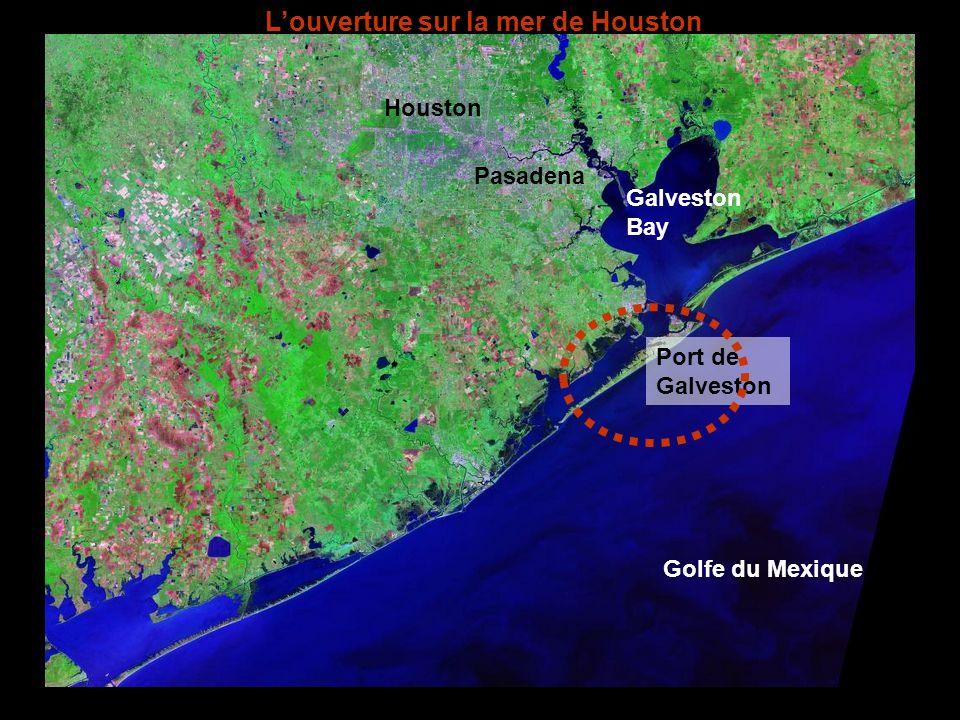 L'ouverture sur la mer de Houston